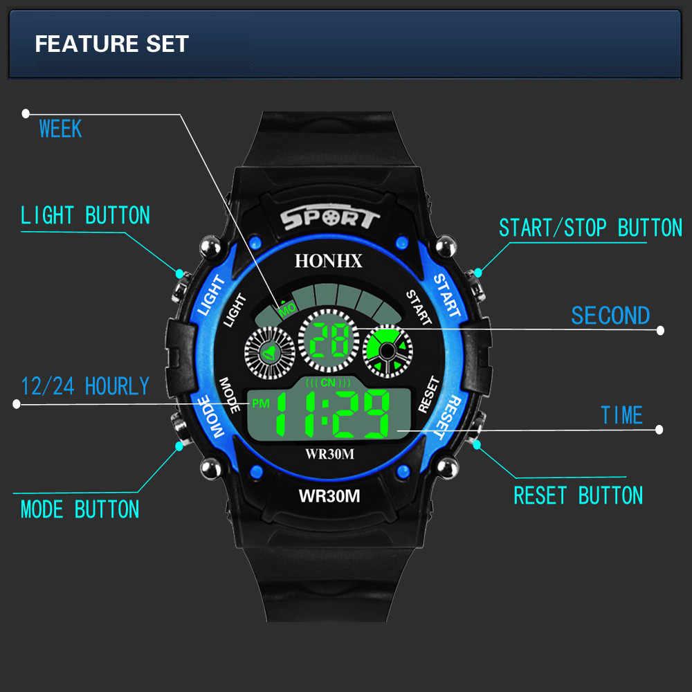 Montre hommes 30m étanche électronique LED numérique en plein air hommes Sport montres chronomètre Relogio Masculino 2018 reloj hombre
