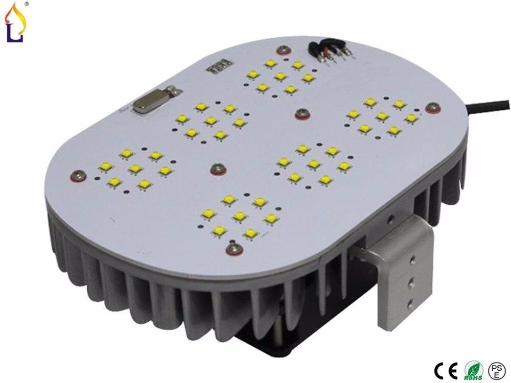 ФОТО 6 pcs/lot LED Retrofit Kit street lighting 100w  120w 150w Cree smd chip Meanwell driver street light with e40 led street lamp