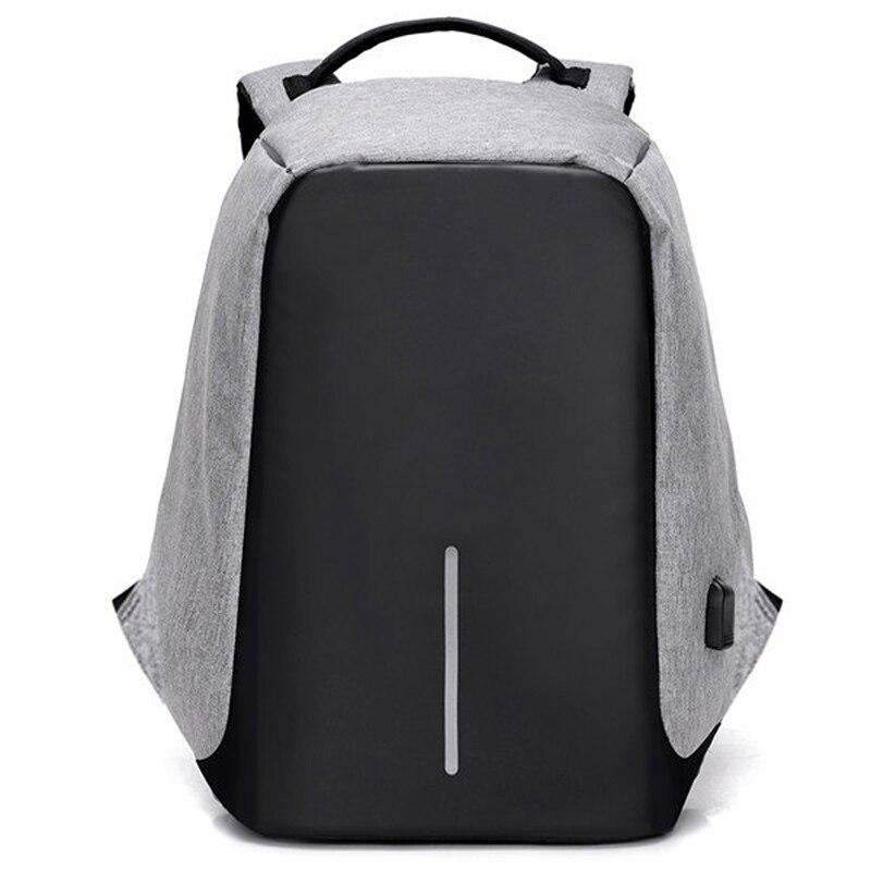 Anti-theft Rucksack USB Lade Männer Laptop Rucksäcke Für Jugendliche Männlichen Mochila Wasserdichte Reise Rucksack Schultasche Dropship