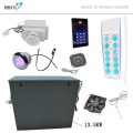 12KW steam bath generator suitable for 12-15 CBM bathroom with remote control device