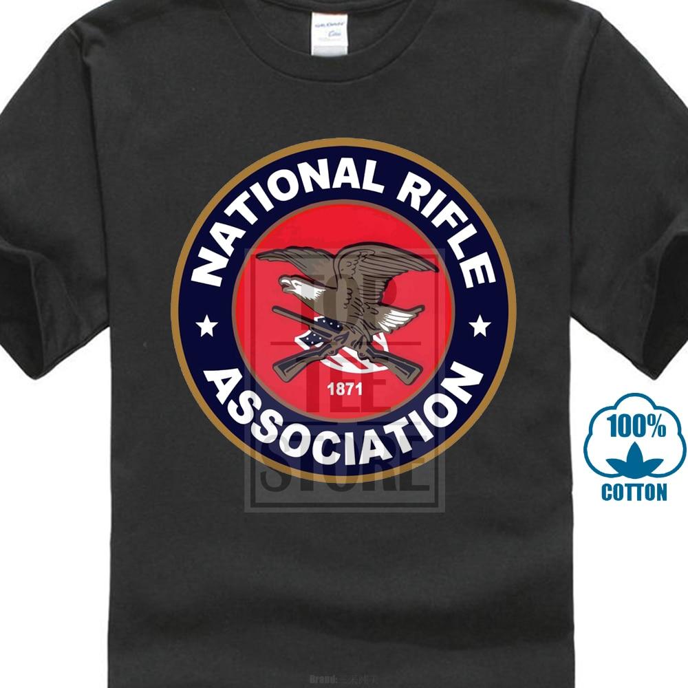 c25c9a8e New 2017 Newest Funny New National Rifle Association Nra Guns Rifles 2Nd  Amendment T Shirt
