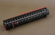 Tactique AR 15 picatinny rail Handguard système pour fusil 12 pouce rail cnc En alliage D'aluminium de coupe R1172
