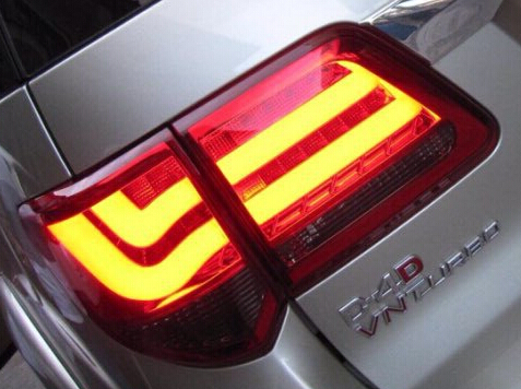 1Pair Brand New Led Rear Lights Tail Lamps Tail Lights for Toyota Fortuner 2012' Cars brand new pair wf10x 20 eyepieces for