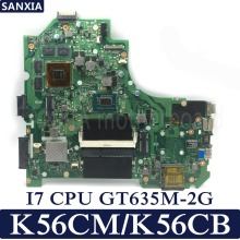 KEFU K56CM Laptop motherboard for ASUS K56CM K56CB K56C S550CM S550C Test original mainboard I7 CPU GT635M-2G