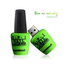 Memory Stick Pendrive 128GB USB Flash Drive 4g 8g 16g Nail polish 32G 64g