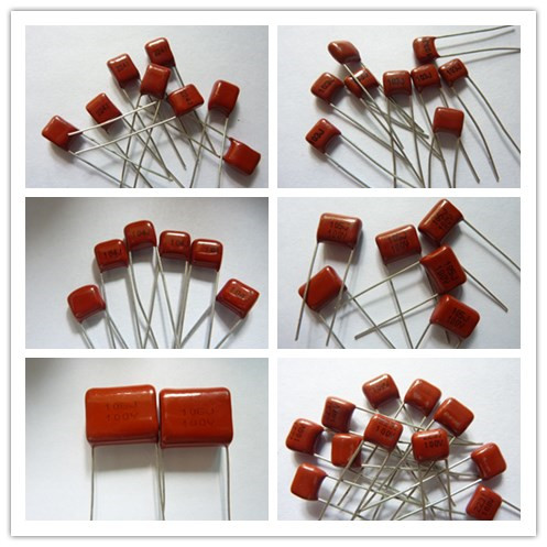 10pcs CBB Capacitor 103 223 473 563 104 224 334 474 105 225 475 106 100V Metallized Polypropylene Film Capacitor