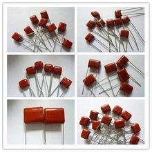 10pcs CBB capacitor 103 223 473 563 104 224 334 474 105 225 475 106 100V Filme de Polipropileno Metalizado Capacitor