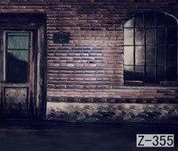 Okna i Ściany, 3x6 m Rąk Paiting Zdjęcie Tło, bez szwu Fotografia Tło Studio Backdrops