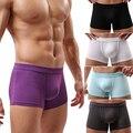 Hot Men's Modal Sexy U Convex Boxers Shorts Underwear Trunks Underpants L XL XXL 6RAA 7G9H