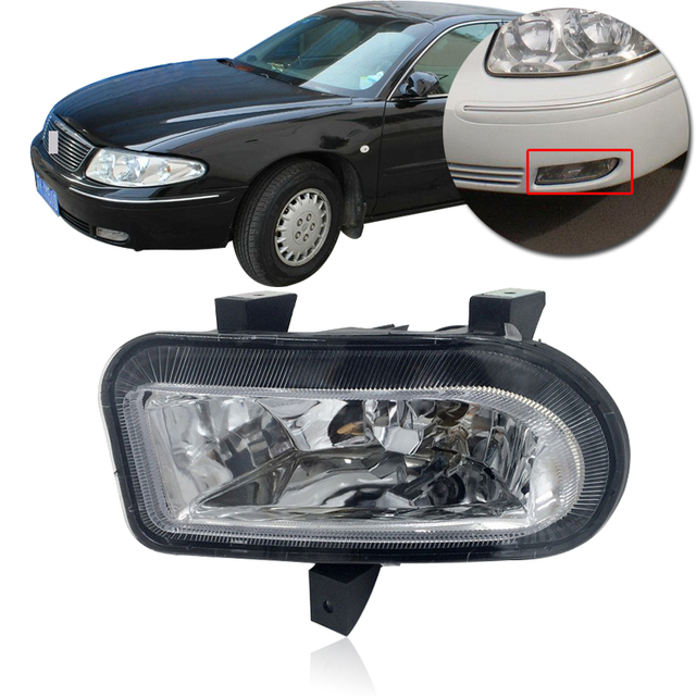 Capqx Front Fog Light For Buick Regal 2002 2003 2004 2005 2006 2007 2008 Driving Foglamp Foglight Lamp