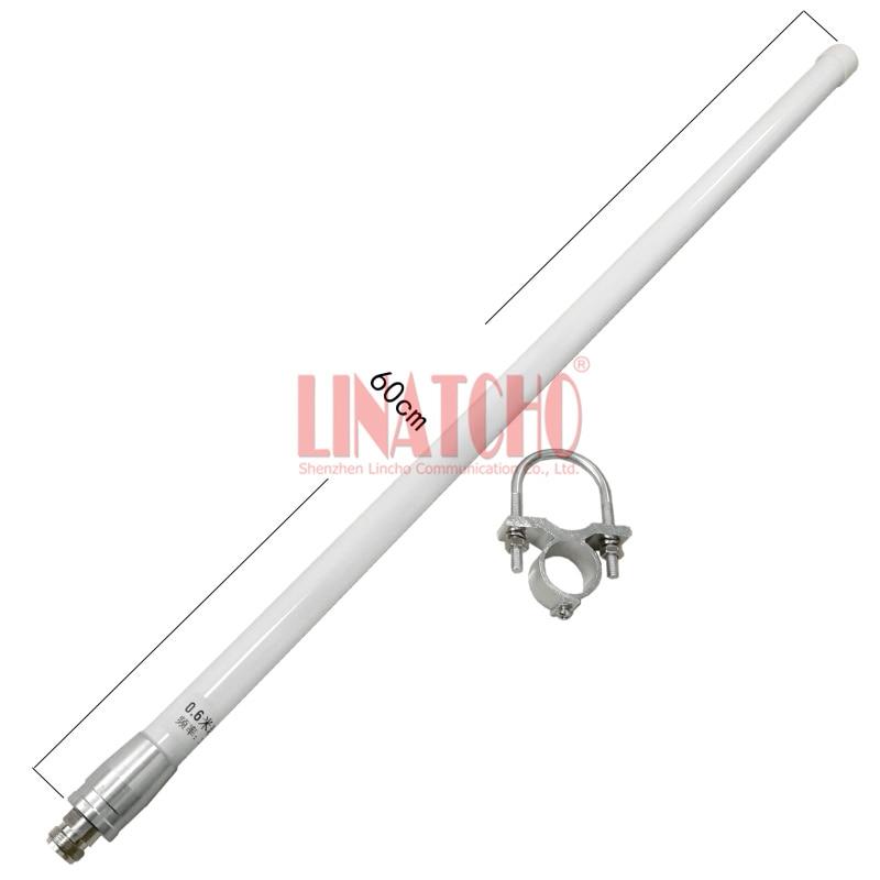 2.4 GHz antenne omnidirectionnelle en fibre de verre 12dB wifi antenne N connecteur femelle
