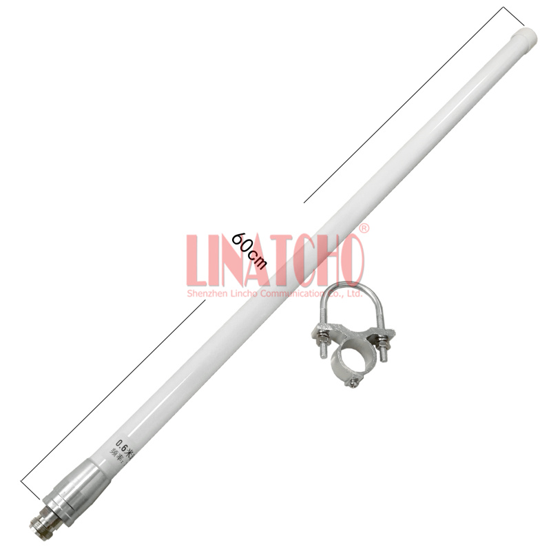 2.4GHz Omni directionele Fiberglass antenne 12dB wifi antenne N - Communicatie apparatuur