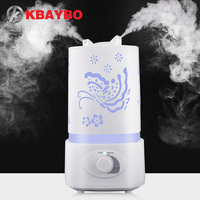 Aromatherapy Air Humidifier Fogger LED Night Light With Carve Aroma Diffuser Mist Maker Diffuser For Home