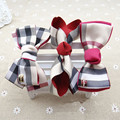 3PCS Girl Children Plaid Hairpins Hair Clip British Style Princess  Birthday Christmas Gift  Xmas  Kids Hair Accressories  Bow