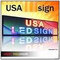 Leeman Водонепроницаемый открытый p10 один красный светодиодный дисплей программируемый светодиодный перемещение сообщения вывеска