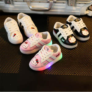 3596ca5aff78cc LISM Baby Sneakers Led Spring Girls Shoes With Light Kids