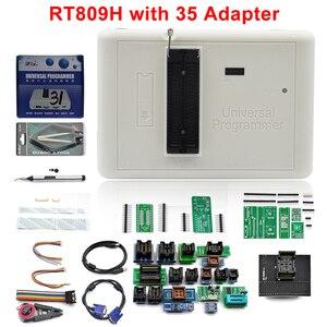 Image 2 - 100% oryginalny programator RT809H emmc nand niezwykle szybki uniwersalny programator + 35 przedmiotów + kabel Edid + ssanie pióra