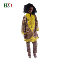 2018 african women outfit bazin riche dress for women dashiki traditional african pour les femme clothing robe afrikaanse tops