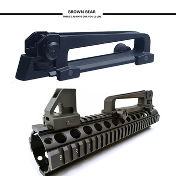 Lugares Para Ar15 | De Metal De Alta Calidad Vista Frontal Visores + Desmontable ASA Mecánico Con Montaje En Carril Vista Trasera Para M4 M16 AR15