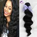 1Piece Grade 9A Brazilian Loose Wave Virgin Hair Unprocessed Human Hair Weaves Cheap Wavy Virgin Brazilian Hair Bundles Soft