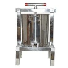 ماكينة ضغط عسل البرافين من الفولاذ المقاوم للصدأ ، ماكينة ضغط الشمع اليدوية المغلقة بالكامل ، ماكينة دلفنة العسل ، ماكينة الصبح قطعة واحدة