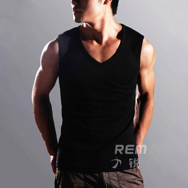 2021 New High Quality Fashion Men's Summer Clothing Robust Body Slimming Cotton Undershirt Shaper Vest Man's Muscle Tank Tops 4