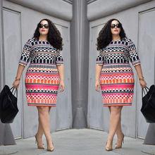 UK Women Lady Bodycon Dresses Plus Size Ladies Clothing Party Dress Big 10-22