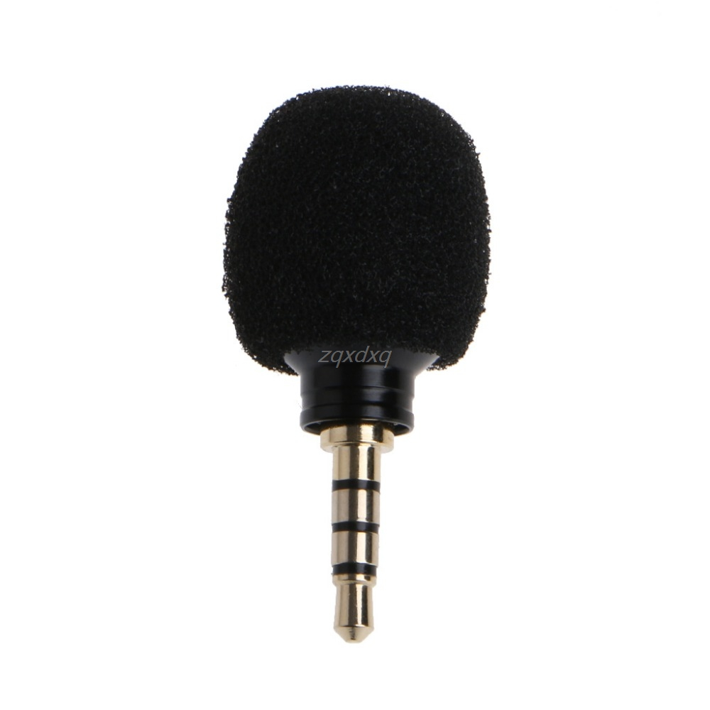 Cellphone Smartphone Portable Mini Omni-Directional High Sensitivity Mic Microphone For Recorder Smartphone Electronics Stocks