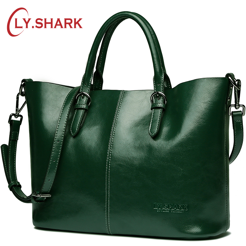 LY.SHARK Brand Luxury Handbags Women Bags Designer Female Shoulder Messenger Bag Casual High Quality Ladies Genuine Leather Bags chispaulo women bags brand 2017 designer handbags high quality cowhide women s genuine leather handbags women messenger bag t235