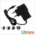 Adaptador de alimentação 12 V DC 1A de Saída DA UE EUA REINO UNIDO AU Plug Power Supply