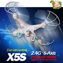 TopsToys X5S RC Helicopter 4CH Remote Control Drone With/ without Camera One Key Return better than X5-1 X5C-1 Quadcopter Gift