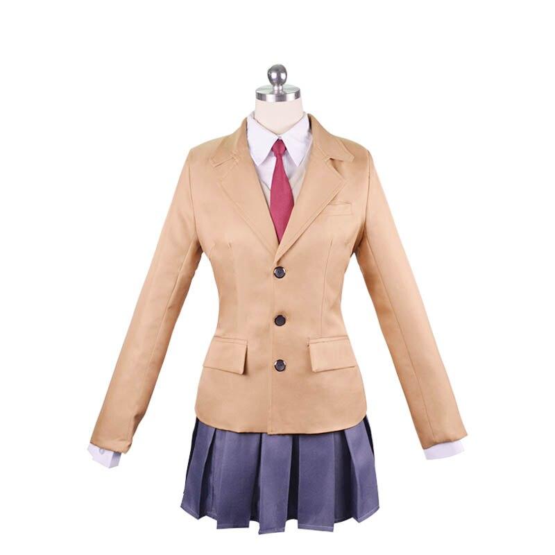 Sakurajima Mai Cosplay Costume Seishun Buta Yarou wa Bunny Girl Senpai no Yume wo Minai School Uniform Full Set