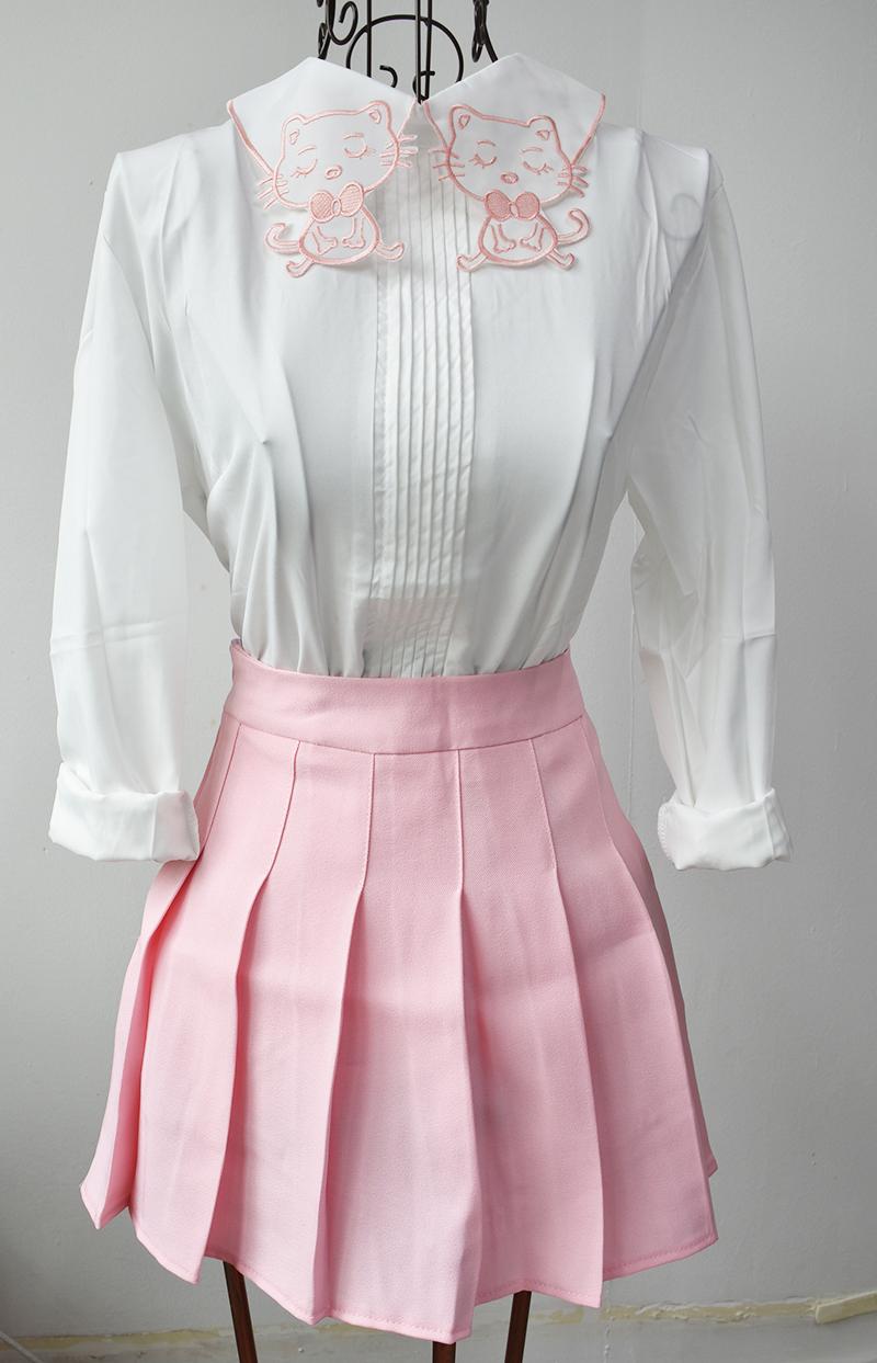 HTB1vcl7QFXXXXXYXFXXq6xXFXXXf - Summer American School Style Fashion Skirts