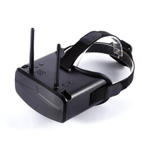 5 8G 40CH 4 3 Inch HD FPV Goggles Video Glasses With 7 4V 2200mAh Battery