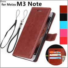 Fundas MEIZU M3 Примечание 5,5-дюйма с отделениями для карт чехол для Meizu M3 Примечание чехол для телефона из искусственной кожи чехол-бумажник с отки...