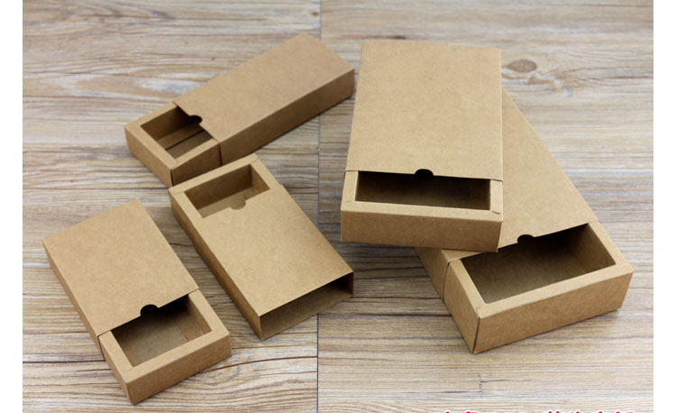 Image 2 - Kraft Paper carton box large gift box black white giftbox lid cardboard paper box big gift packaging box cosmetic packing-in Gift Bags & Wrapping Supplies from Home & Garden