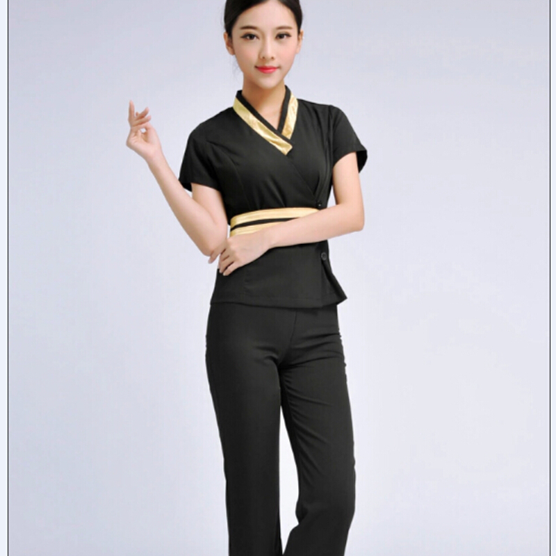 Spa uniforms reviews online shopping spa uniforms for Spa uniform female