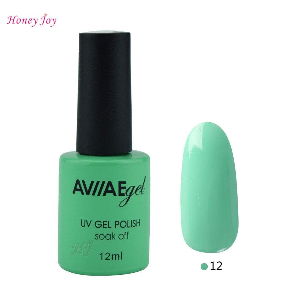 AVIIAE Aqua Verde Esmalte de Uñas de Gel de Uñas de Larga Duración ...