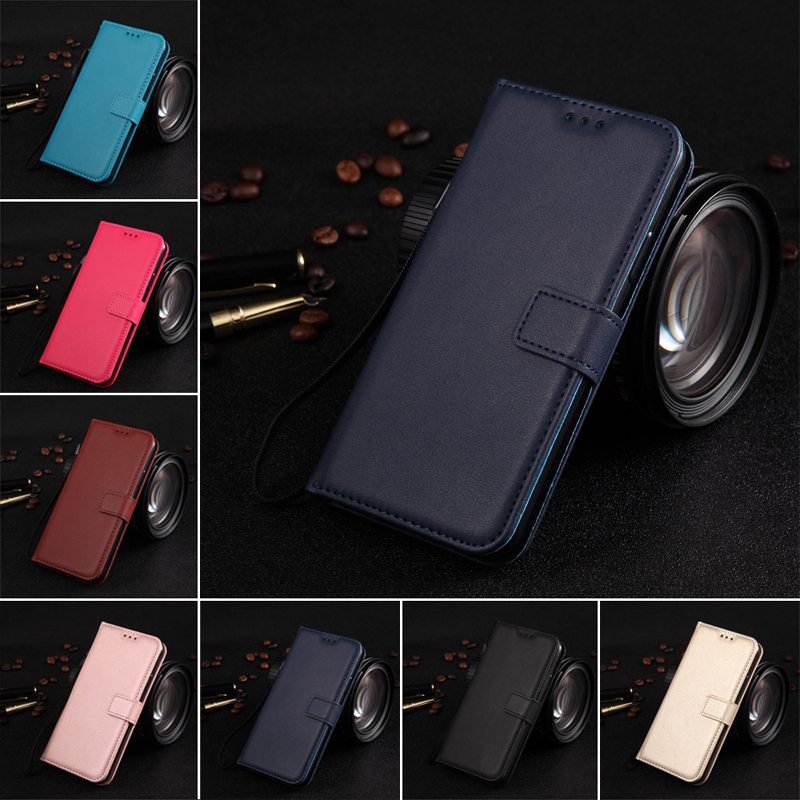 EVANKALX PU Leather Flip Wallet Phone Case Cover For iPhone 5 5s se Prime Stand Flip Wallet Case For iPhone 6 7 8 X Bag