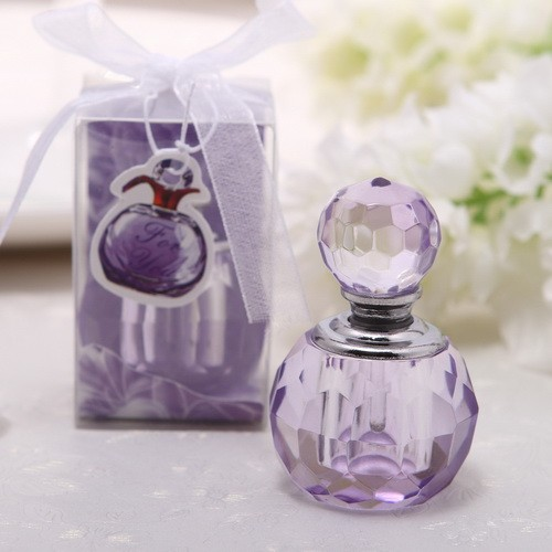 Free Shipping 50pcssets Luxury Perfume Oil Bottle Crystal For Wedding Bomboniere Gift