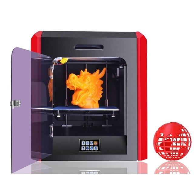 2017 New Model Large Print Size Fully Closed 3D Printer ET-K1 Original Manufacturer Full Metal Frame 4