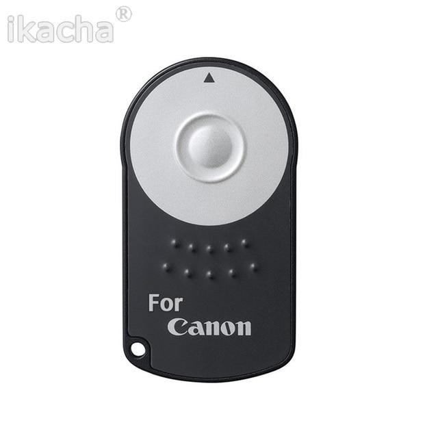 Macchina fotografica senza fili IR A Distanza di Controllo RC-6 Per CANON 600D 650D 450D 500D 550D 750D 5D 6D 7D 5