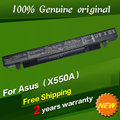 Envío libre batería original del ordenador portátil para asus k550l k550la k550lb k550ld4200 k550ld4210 k550v k550xi323vc k550xi3337cc p450c