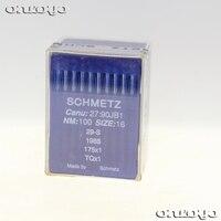 Schmetz agulha TQ * 1 100% original para botão da máquina de costura industrial TQX1 175X1 1985 29 S para 100 agulhas Acessórios de costura     -