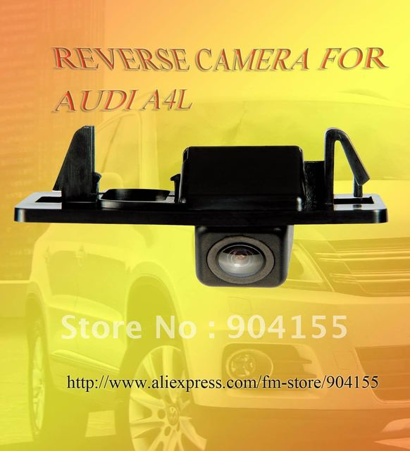 Back up camera  for  AUDI A4L/material PC plasitc/freeshipping/HD image