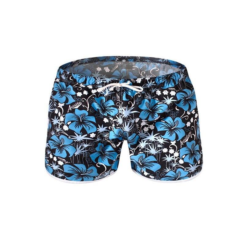 Sexy Men Swimsuits Pocket Swimming Shorts Sports Men Quick Dry Swimwear Swim Trunks Bermuda Surf Boardshorts Summer Beach Pants