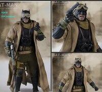 Бюст кошмар издание Wjltoys 1/6 Бэтмен война Супермен Desert костюм Модель 12 дюймов коллекция подарок