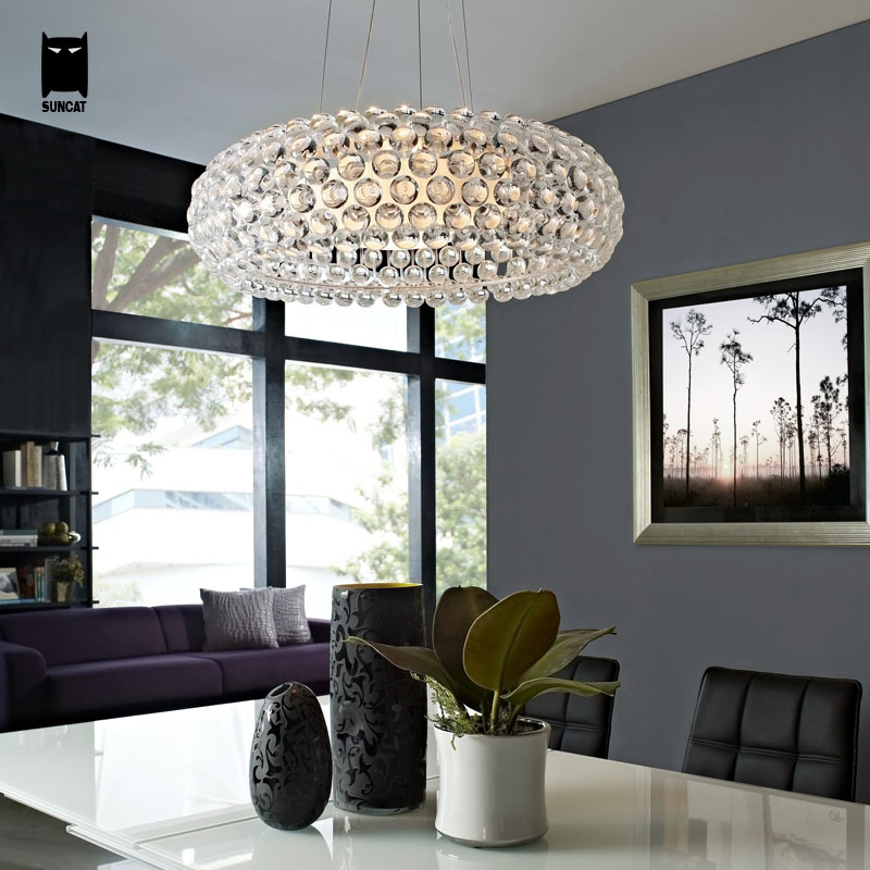 35/50/65cm Caboche Ball Pendant Light Cord Fixture Modern Foscarini Hanging Lamp Lustre Avize Luminaria Design Dining Table Room