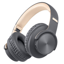 B8 Bluetooth V5 0 Headphones Over Ear 40H Playtime Touch Control Wireless Headphone with Mic Wired TF Headset For Cellphone PC cheap Tourya Over the Ear Hybrid technology CN(Origin) Wireless+Wired 108±3dBdB 1 5m For Internet Bar Monitor Headphone for Video Game