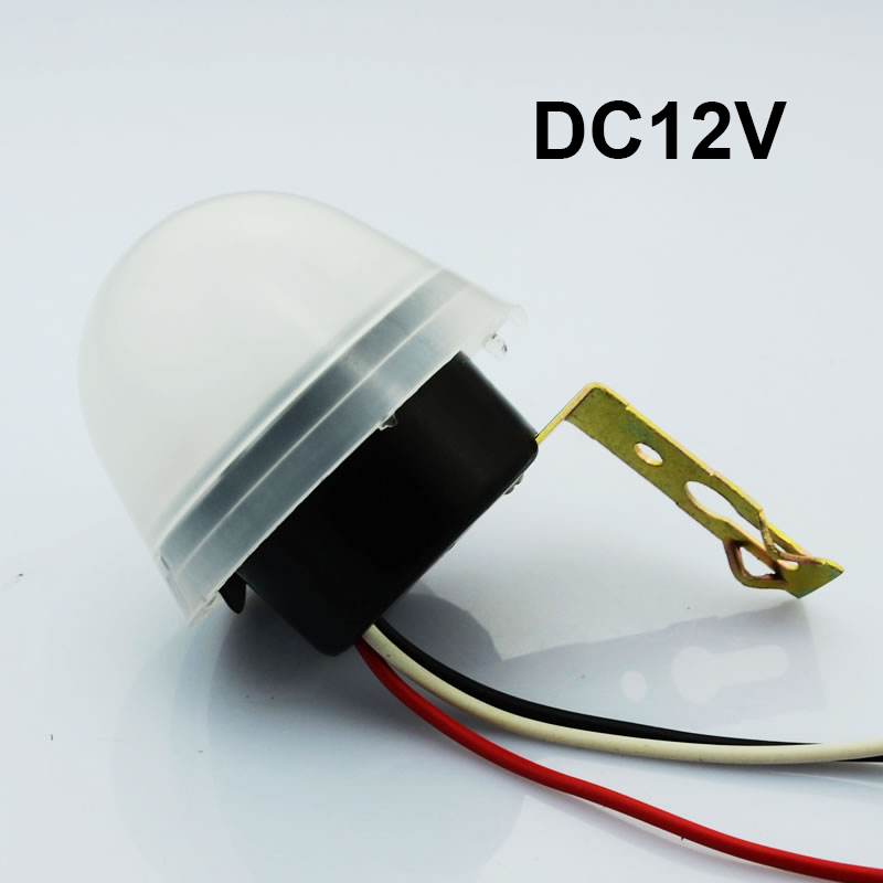 Hot sale Light control switch sensor lamp controller AS-20 automatic lighting controller DC12V photoswitchable sensitivity ac110 240v intelligent control switch electronic temperature automatic controller sensor for farming industry us plug